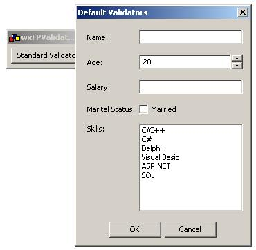 Double value validator for wxWidgets - 1