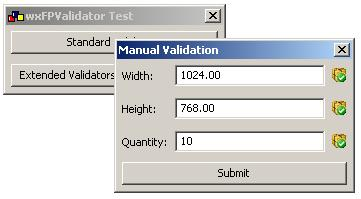 Double value validator for wxWidgets - 6