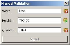 Double value validator for wxWidgets - 7